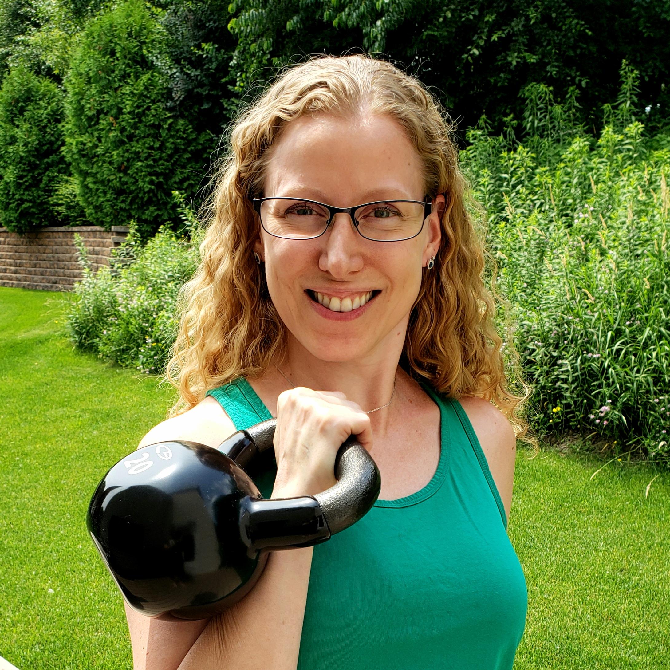 A Kettlebell Journey for CEO Jodi Barrett   Kettlebell